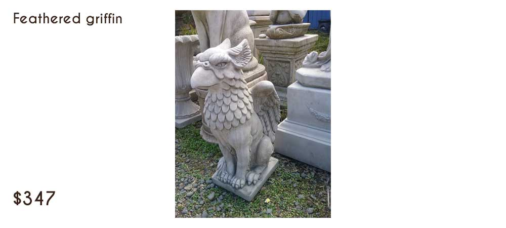Stone Statuary - Frog Pool Farm Interiors